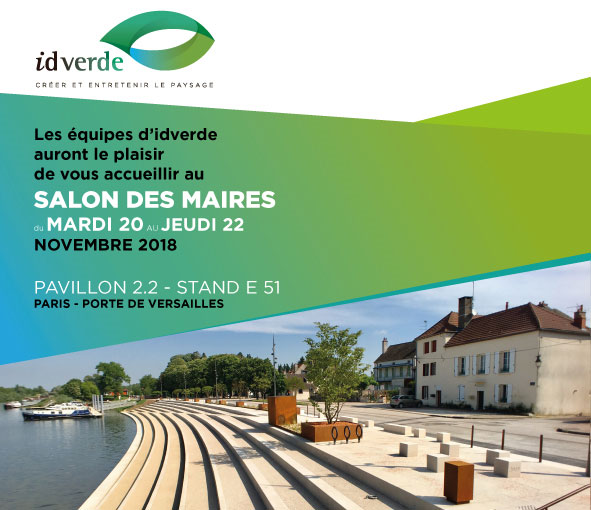 salon des maires 2018 idverde