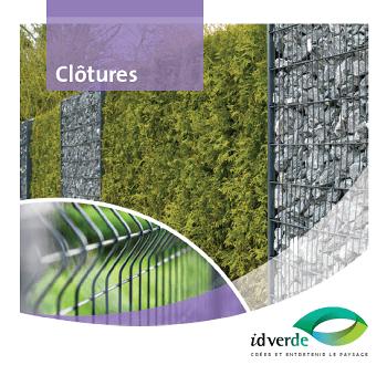 Brochure Clôtures idverde